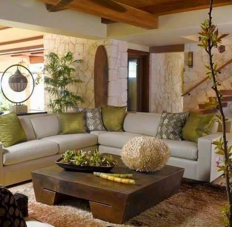 s living room rustic
