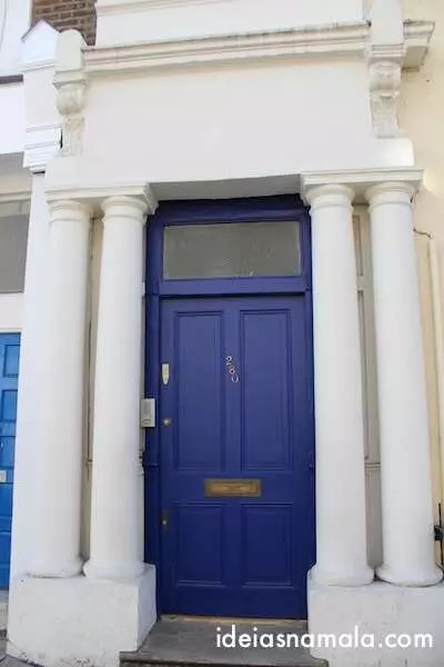 Porta Azul _ Notting Hill
