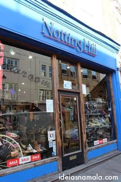 Livraria do filme Notting Hill - Londres