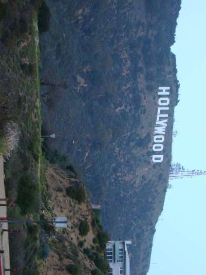 Placa de Hollywood - Los Angeles