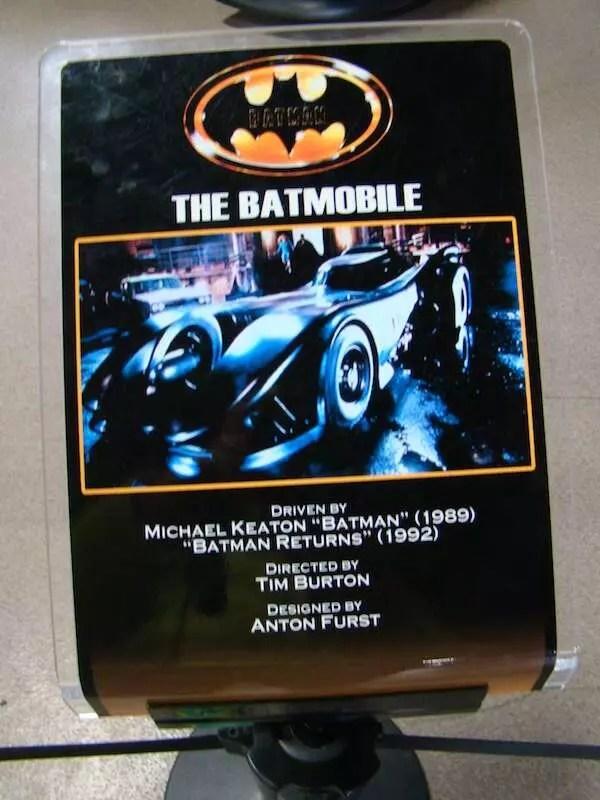 BatMobile (Batmóvel) | Museu da Warner