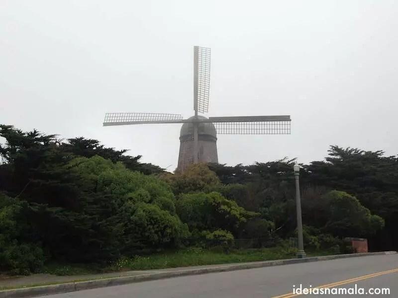 Moinho Holandês - Golden Gate Park