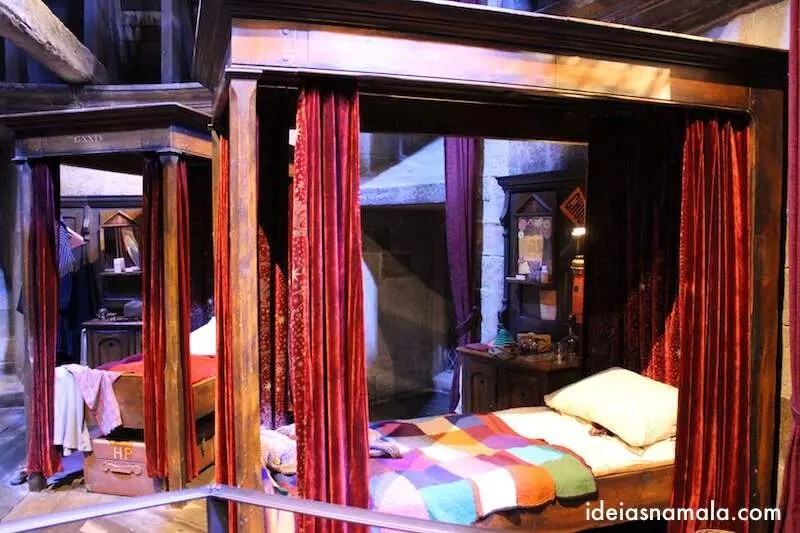 Quarto do Harry Potter - Marking of do filme