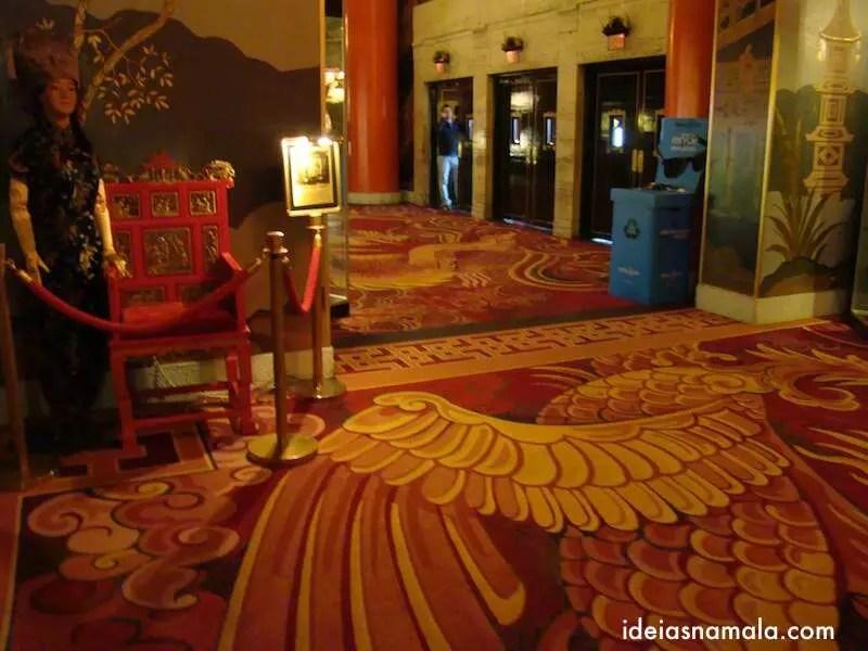 Interior do Grauman's Chinese Theatre