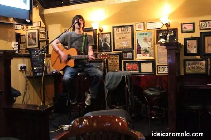 Música ao vivo no Temple Bar, Dublin