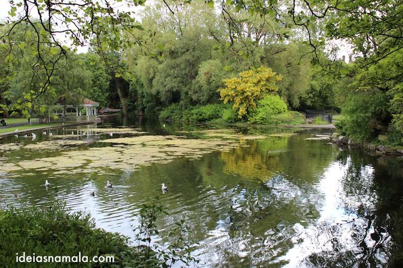 Parque St. Stephen's Green - Dublin