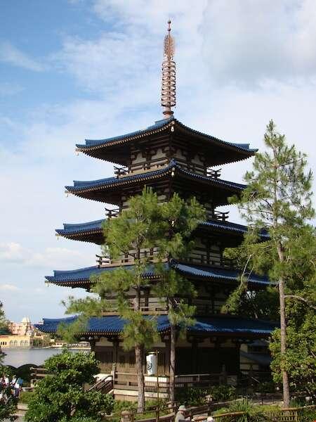 Pavilhão do Japão, Epcot