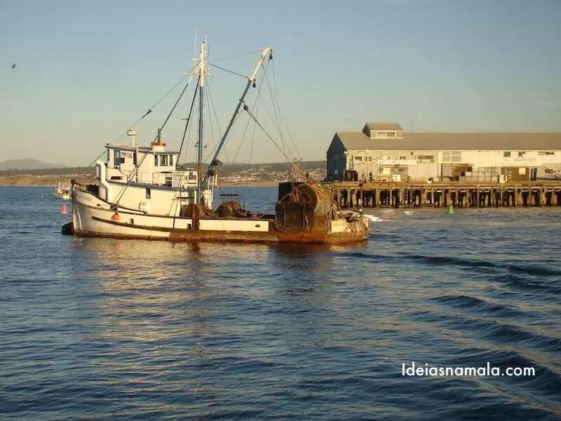 Barco em Monterey