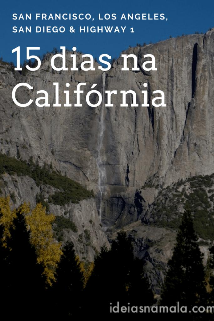 15 dias na Califórnia