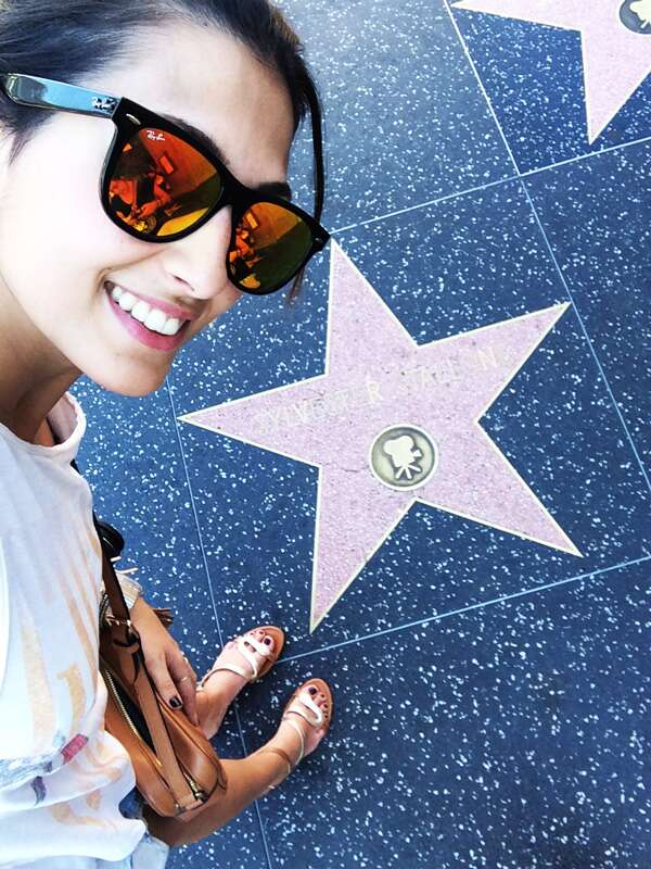 Calçada da Fama - Hollywood