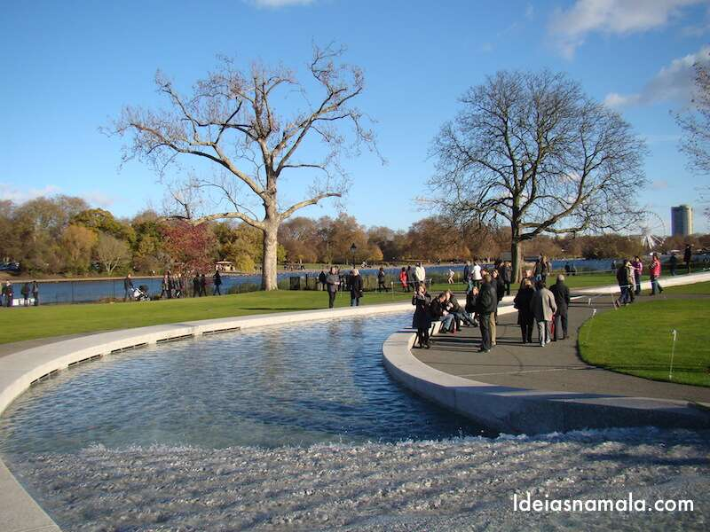 Memorial Princesa Diana - Londres