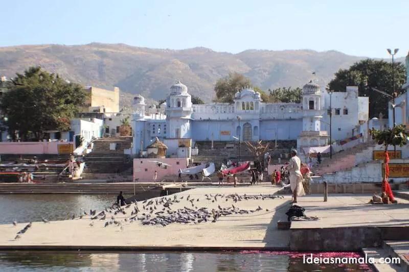 Benção do lago - Pushkar