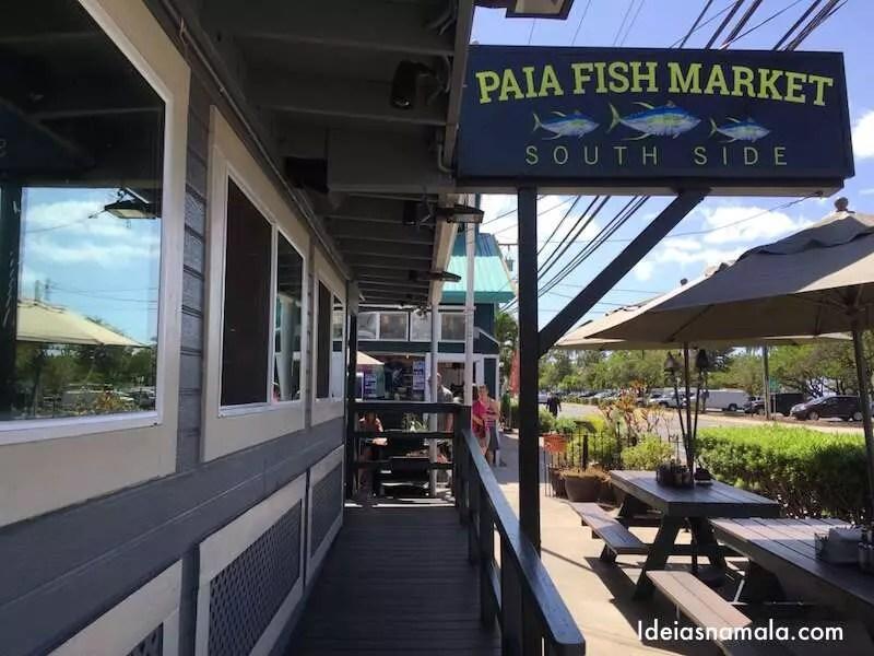 Hava onde comer bem em maui ideias na mala for Fish market maui