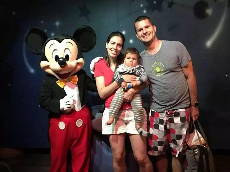 Como viajar com bebê para a Disney