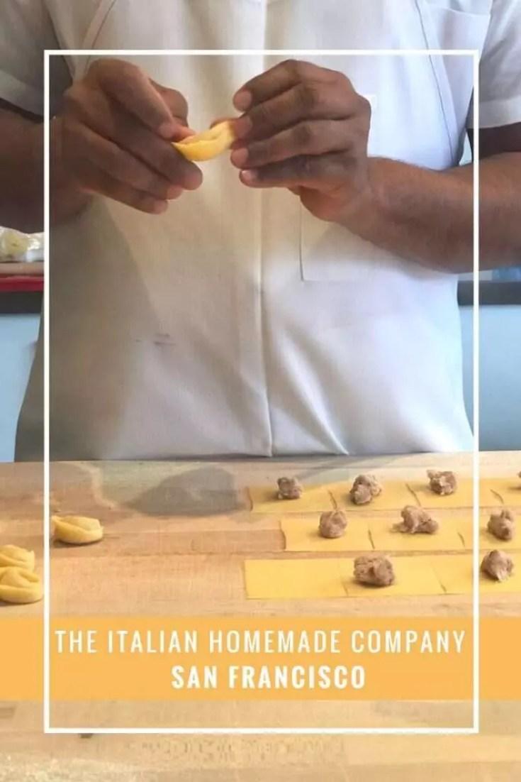 Conheça o The Italian Homemade Company em San Francisco, um restaurante delicioso e super acessível em San Francisco