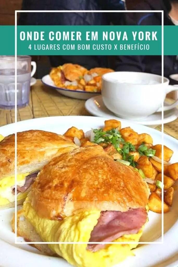 Nova York: 4 lugares com bom custo x benefício para comer