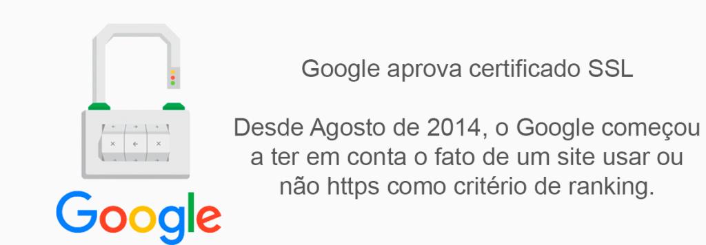 certificado ssl google