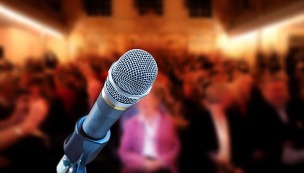 palestrante saiba falar com publico