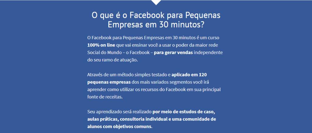 o que é facebook para pequenas empresas