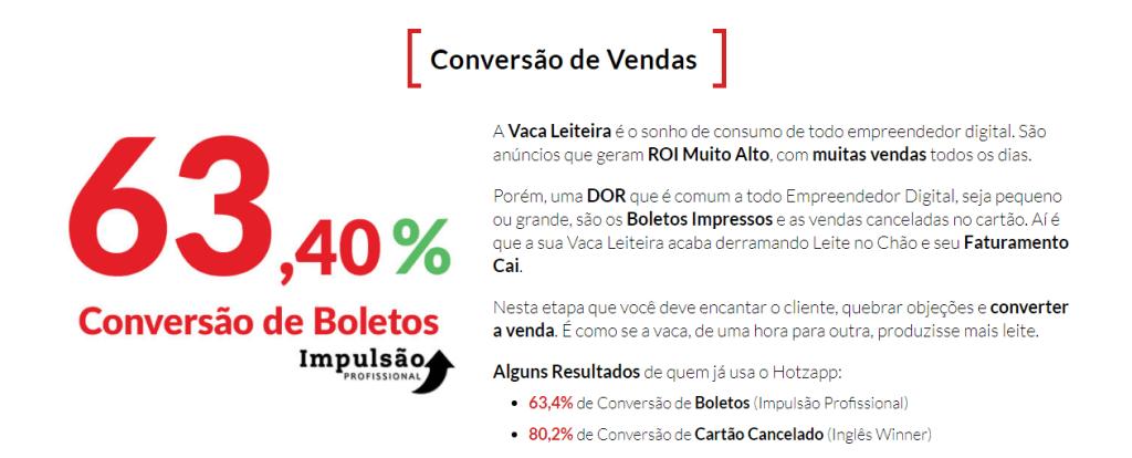 conversao de vendas