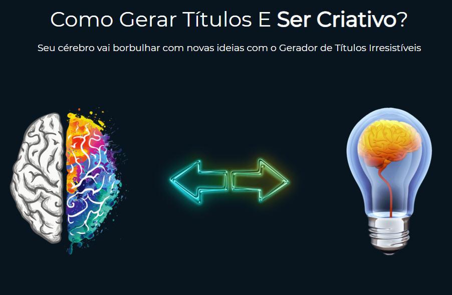 criatividade para títulos