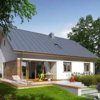 Proiect casa ieftina P + M cu suprafata construita de 138 mp!