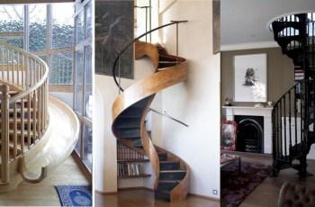 Scari in spirala - 30 de idei geniale de scari interioare in forma de spirala