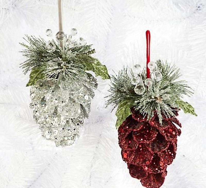 ornamente din conuri de brad 14