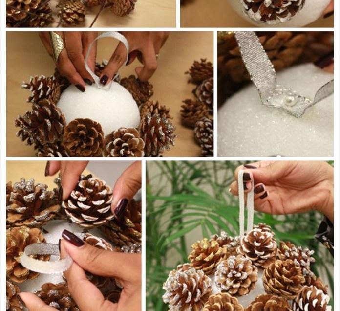 ornamente din conuri de brad 8