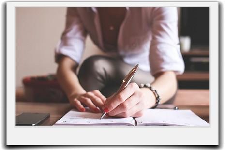 家計簿の手書きを簡単に-続かない人のあるシンプルな項目とは?