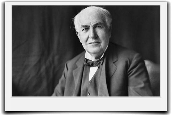 発明王トーマス・エジソンの名言から学ぶ失敗の7つの教え