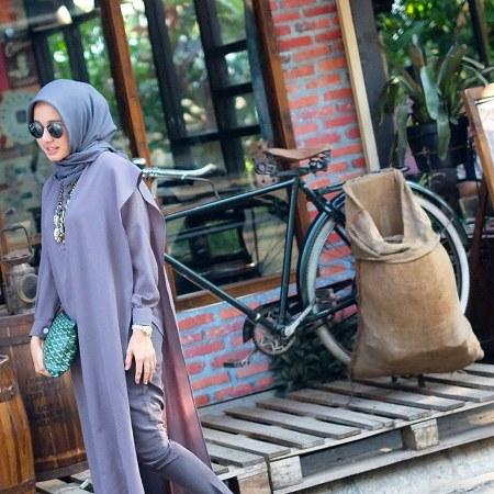 Inspirasi dari Busana Hijab Laudya Cynthia Bella (6)