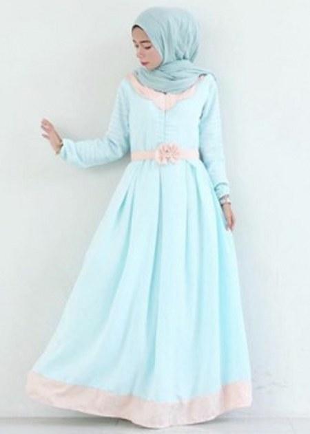 Model-Baju-Gamis-Pesta-dan-Lebaran