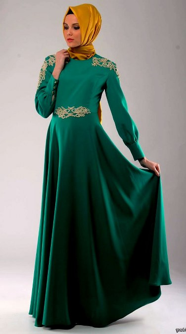 Model Busana Pesta Muslimah