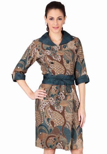 gambar-model-baju-batik-kerja-wanita