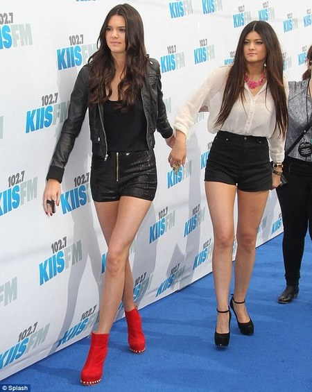 kendall-jenner-and-kandee-rosso-red-suede-booties-with-gold-studs-gallery