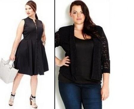 model-pakaian-untuk-wanita-gemuk