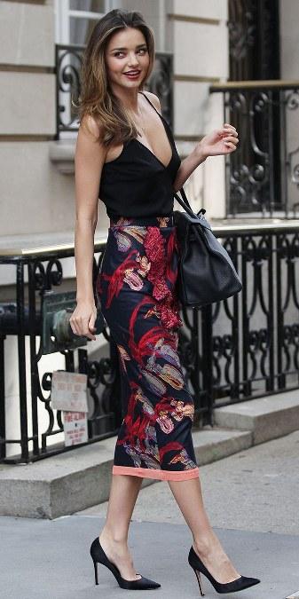 Baju Floral Miranda Kerr (4)