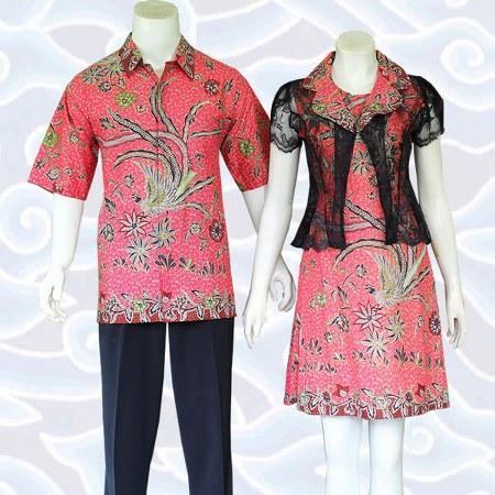 dress batik sarimbit