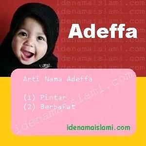 arti nama Adeffa