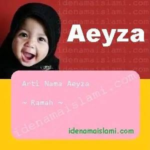 arti nama Aeyza