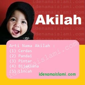 arti nama Akilah