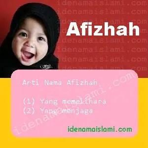 arti nama afizhah