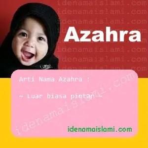 arti nama Azahra