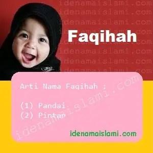 arti nama Faqihah