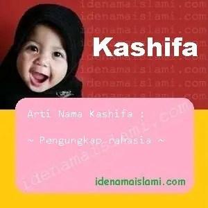 arti nama Kashifa