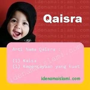 arti nama Qaisra