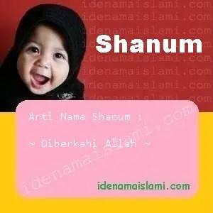 arti nama Shanum