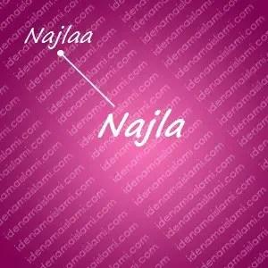 variasi arti nama Najla untuk nama bayi perempuan islami