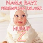 Nama Bayi Perempuan Islami Huruf Z